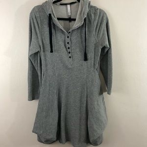 Kensie hoodie dress women's size LARGE awesome!